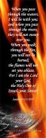 View the image: Fire - Isaiah 43:2-3 NIV